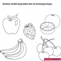 Okul Oncesinde Renkkavrami 5 Preschool Activity