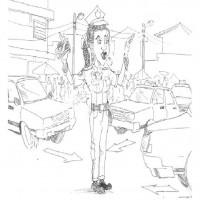 Trafik Ve Ilkyardım Haftası Belirli Gün Ve Haftalar Boyama Sayfası 5
