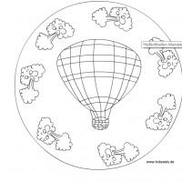 Ucan Balon Madala Boyama 1 Preschool Activity