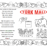Yerli Mali Haftasi 3 Preschool Activity