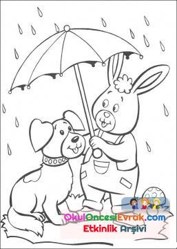 Yağmurlu Şemsiye