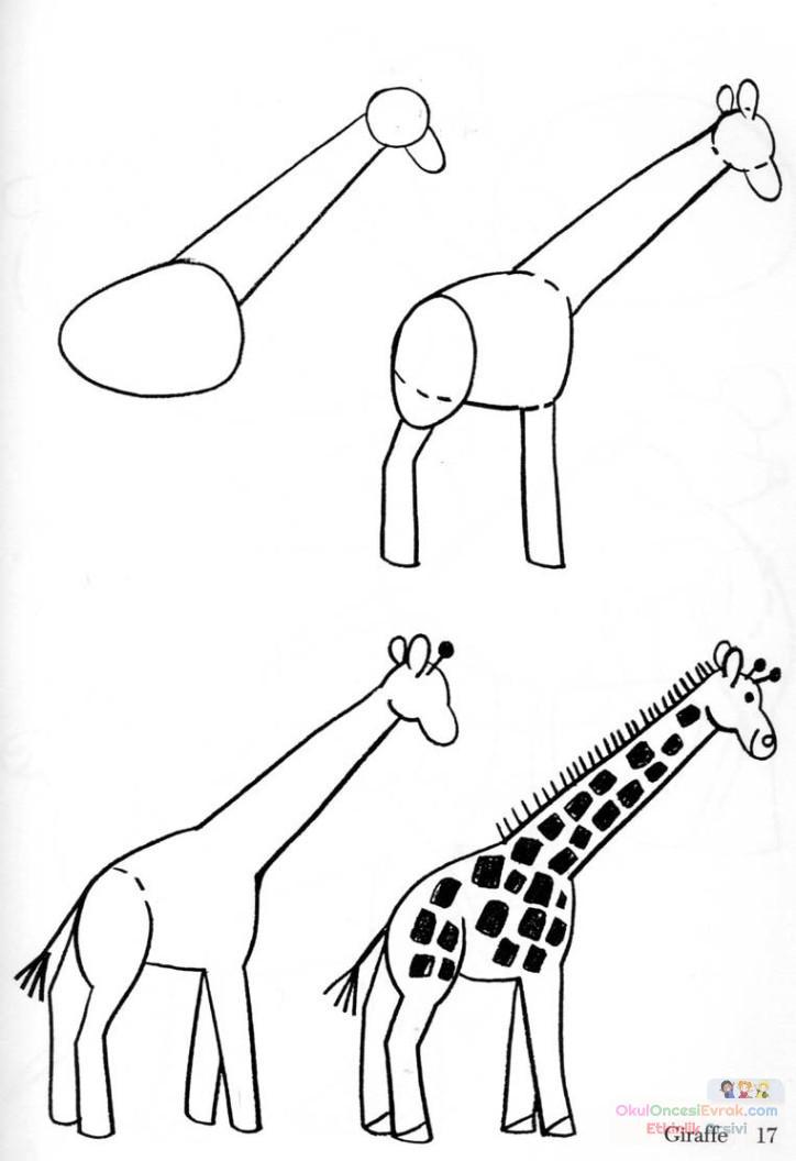 zürafa çalişması