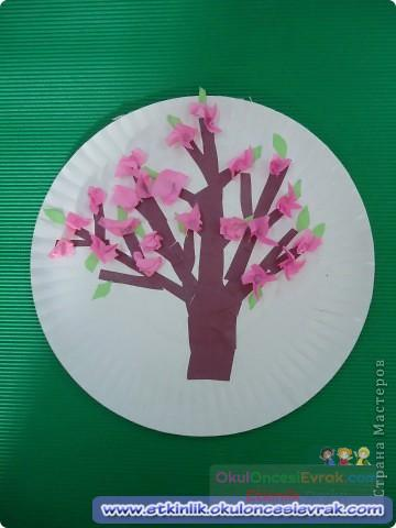 что торакид поделки на тубишват цветущая ветка из бумаги салфетки смотрелись