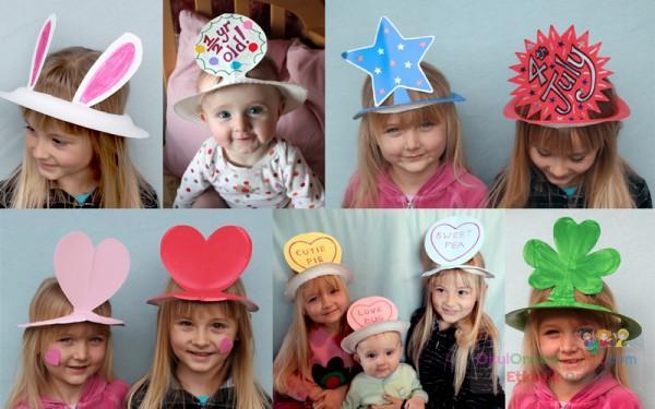 Детская шляпка ребенка своими руками 61
