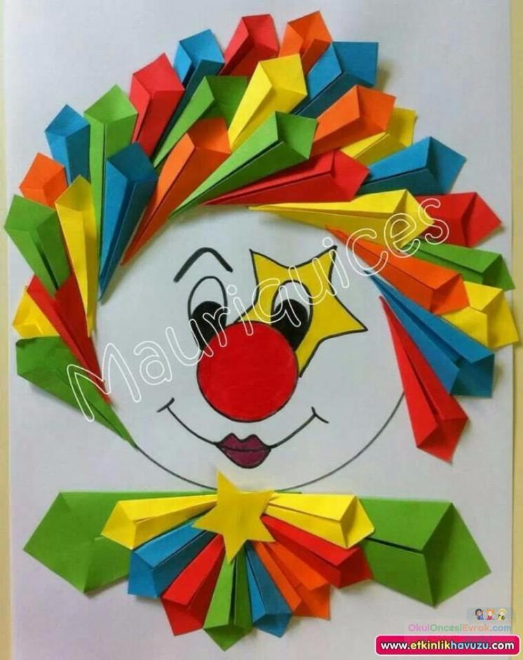 Как делать поделки из цветной бумаги