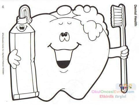 Diş Sağlığı 20 Preschool Activity