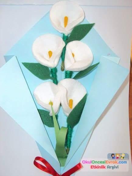 цветы из ватных дисков своими руками картинки конкурса